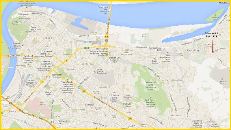 visnjicka banja mapa Mape i Kontakt visnjicka banja mapa